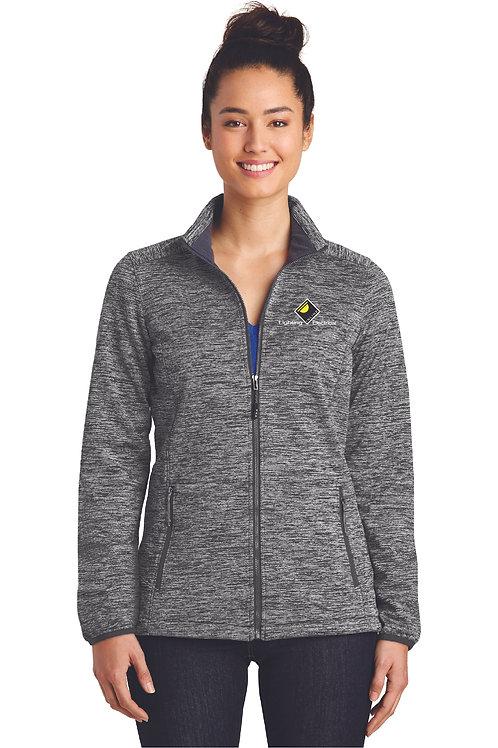 Sport-Tek® Ladies PosiCharge® Electric Heather Soft Shell Jacket
