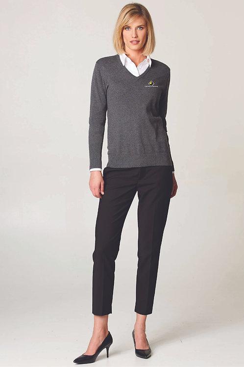 Ladies V-Neck Sweater