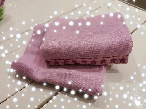Nuschi lila mit Stern violet