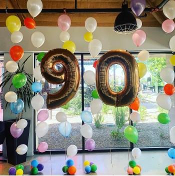 90TH BUBBLE STRINGS