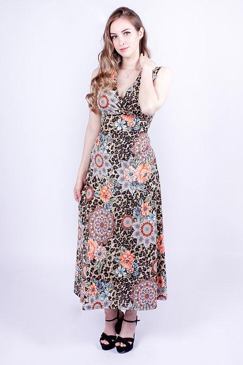 Vestido Largo Carmen| Bellisima