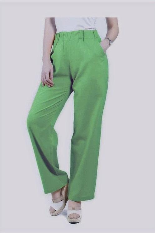 Pantalón Lino Verde