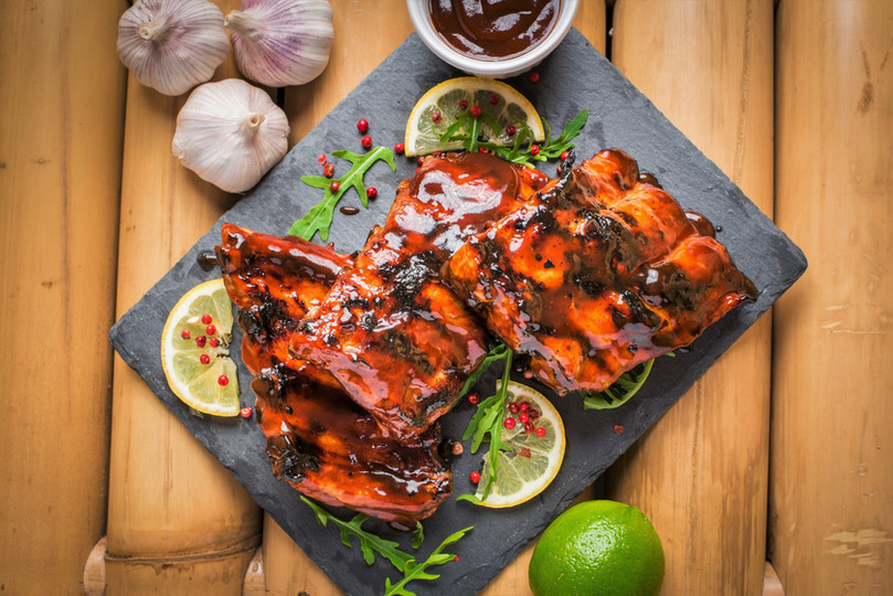 BARBEQUE FILIPINO RIBS