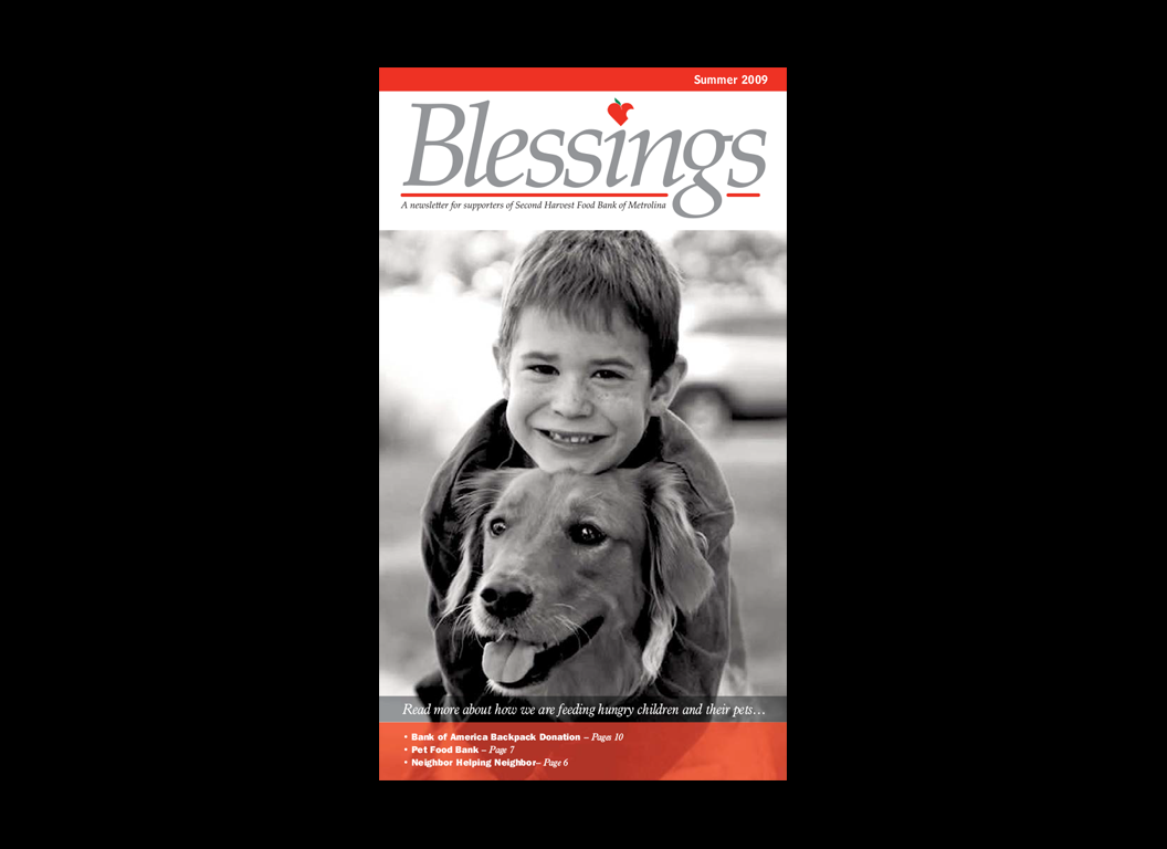 Blessings Newsletter Cover