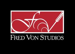 Fred Von Studios Logo & Stationery