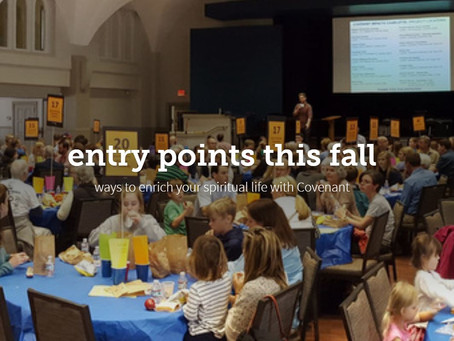 Fall Entry Points Web Page
