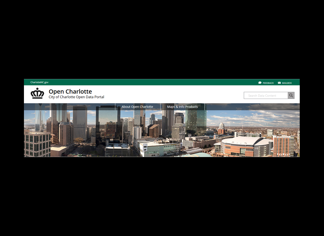 Open Charlotte Data Portal Site