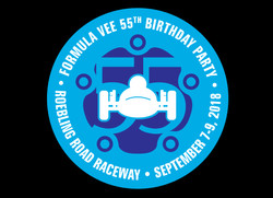 Formula Vee 55th Birthday Logo