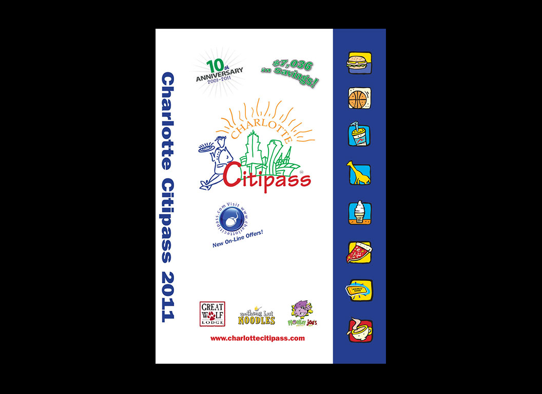 Charlotte Citipass Coupon Book