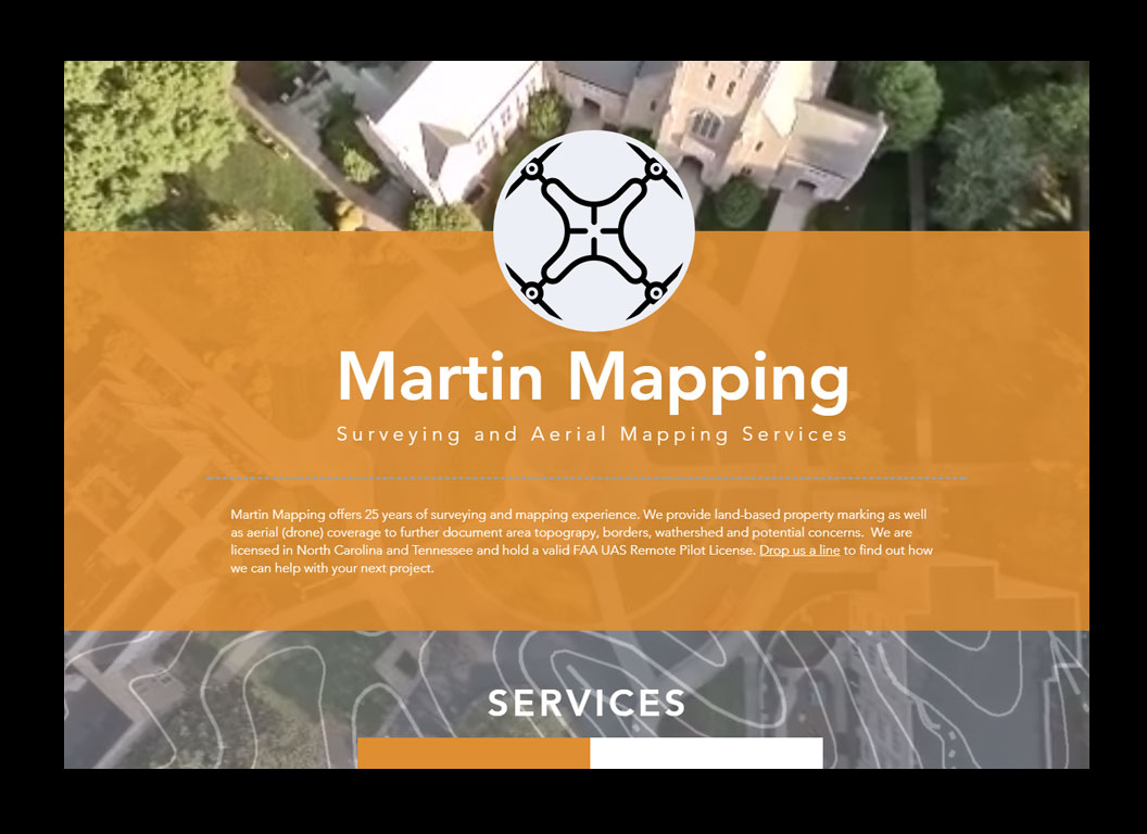 Martin Mapping & Surveying Web Site