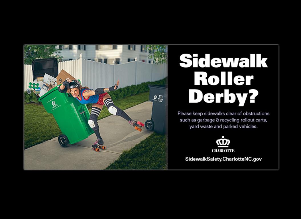 Sidewalk Safety Campaign Ads