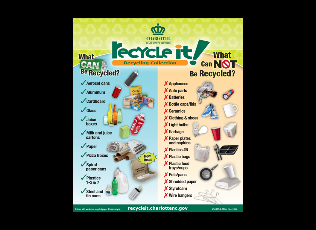 Recycling Collection Insert