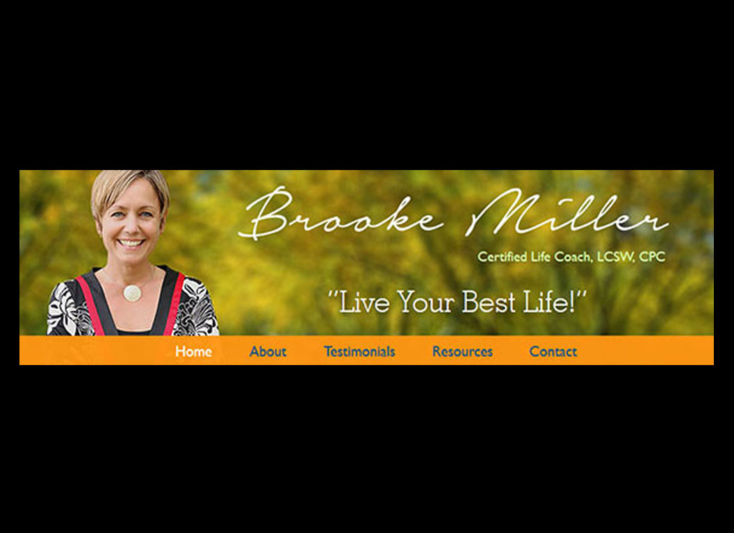 Brooke Miller Coaching Web Site