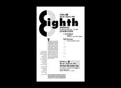 Juried Exhibition Promo Poster