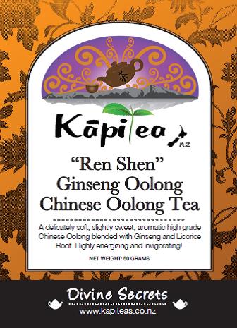 """""""Ren Shen"""" Ginseng Oolong"""