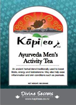 Ayurveda Men's Activity Tea