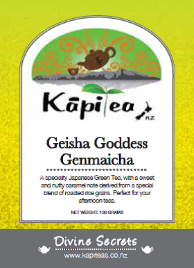 Geisha Goddess Genmaicha Japanese Green Tea