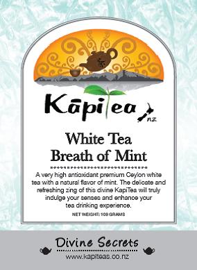 White Tea Breath of Mint