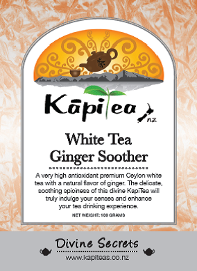 White Tea Ginger Soother