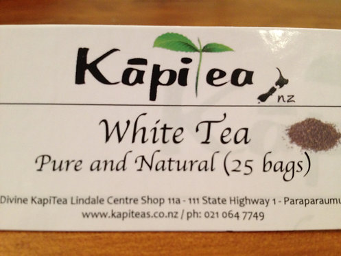 White Tea Pure & Natural