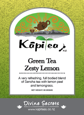 Green Tea Zesty Lemon