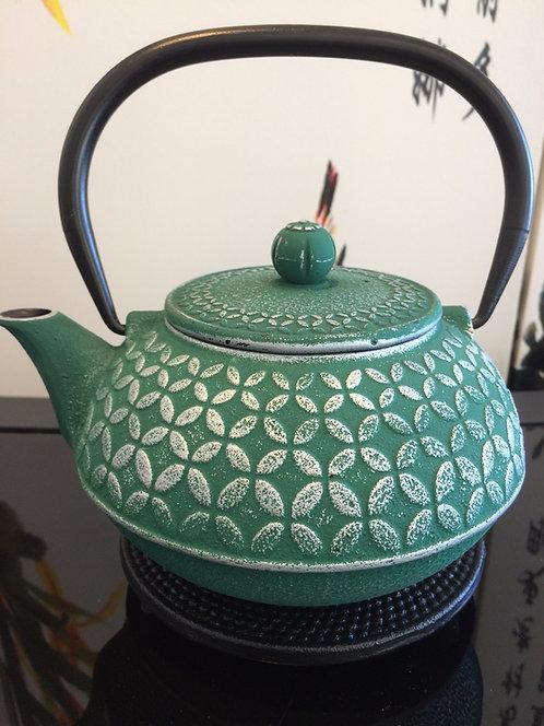 Cast Iron Teapot - Seven Jewels Teal (1000 ml)