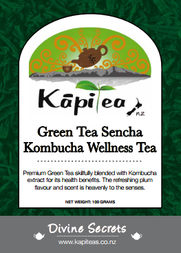 Green Tea Kombucha Wellness Tea