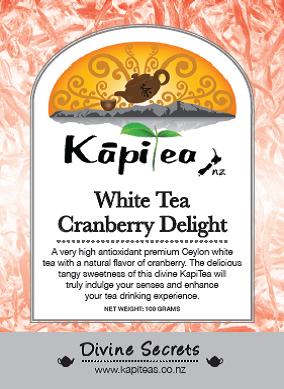 White Tea Cranberry Delight