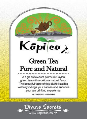 Green Tea Pure and Natural