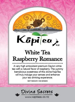 White Tea Raspberry Romance