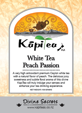 White Tea Peach Passion