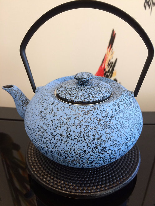 Cast Iron Teapot - Stoneblue (450 ml)