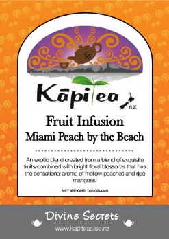 Miami Peach by the Beach Fruit Infusion
