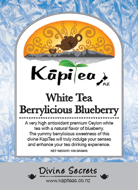 White Tea Berrylicious Blueberry