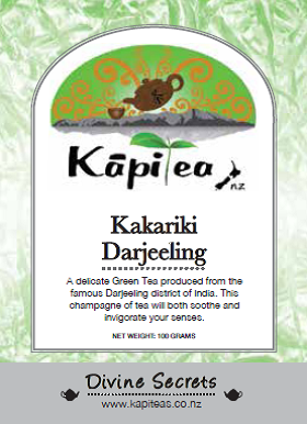 Kakariki Darjeeling Indian Green Tea