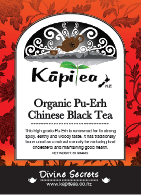 Organic Pu-Erh Chinese Black Tea