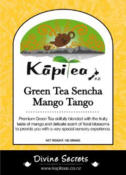 Green Tea Sencha Mango Tango