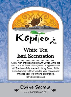 White Tea Earl Scentsation