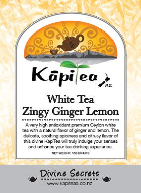 White Tea Zingy Ginger Lemon