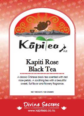Kapiti Rose Black Tea