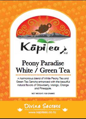 White Tea Peony Paradise