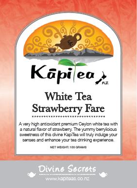 White Tea Strawberry Fare