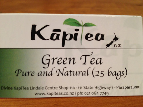 Green Tea Pure & Natural