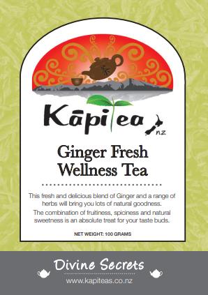 Ginger Fresh Wellness Tea