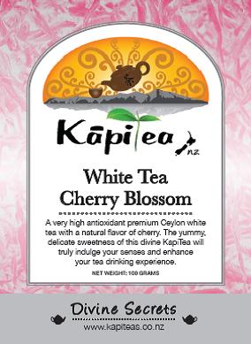 White Tea Cherry Blossom