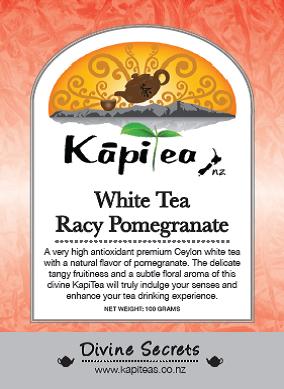 White Tea Racy Pomegranate