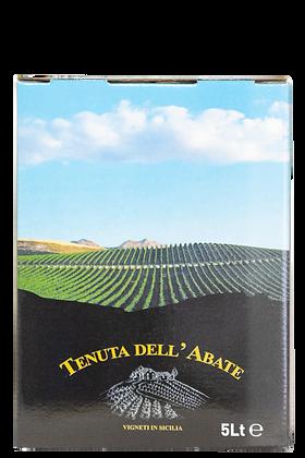 Vino bianco Sauvignon blanc e Viogner  igp terre siciliane - Tenuta dell'abate