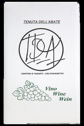 Vino rosso Cabernet e Merlot igp terre siciliane - Tenuta dell'Abate