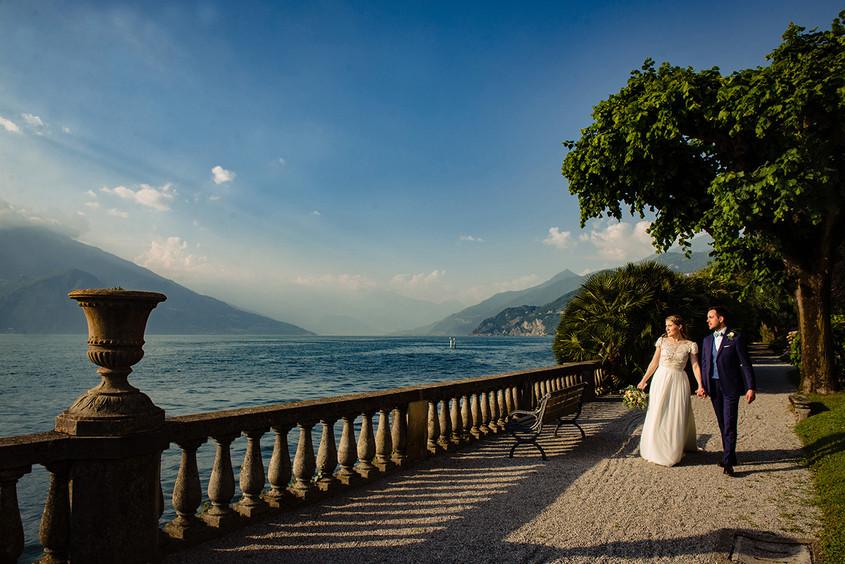wedding lake como, bellagio, villa serbelloni
