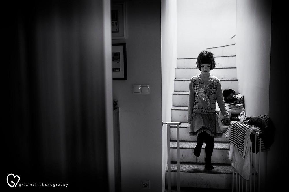 a REGGEL, dokumentarista család fotózás